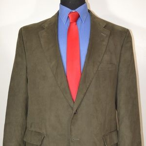 Jos A Bank 46R Sport Coat Blazer Suit Jacket